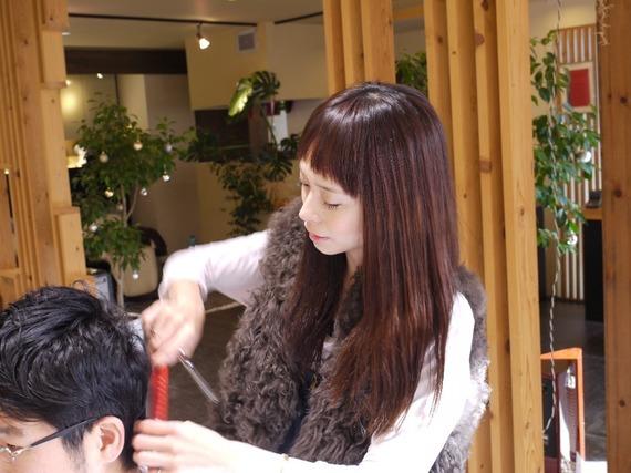 美容師妄想エロ