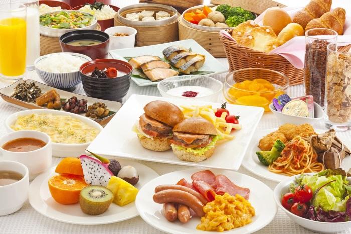 最高級の朝食
