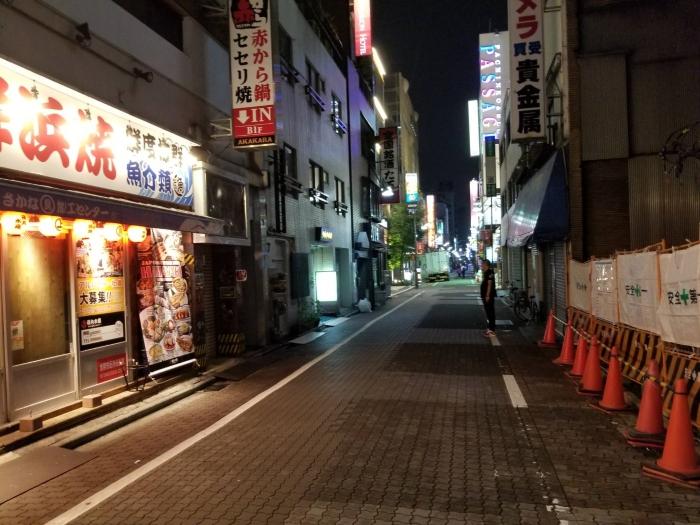 上野 夜の街